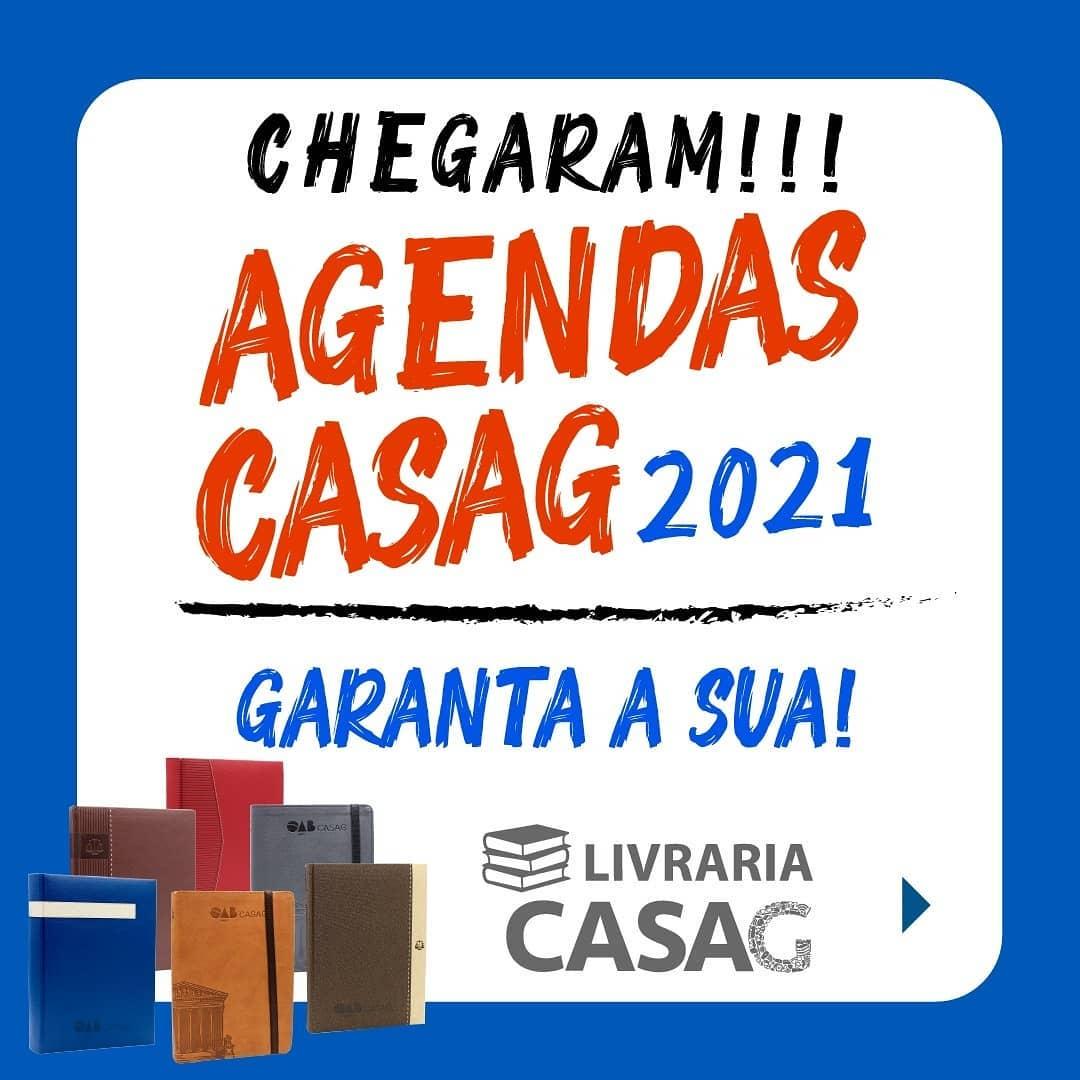 Agendas 2021 da CASAG já estão à venda