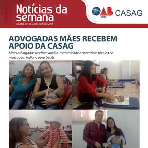 Informativo - Casag - 22-06-2016
