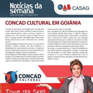 Informativo - Casag  - 06-07-2016