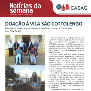 Informativo - Casag - 14-07-2016