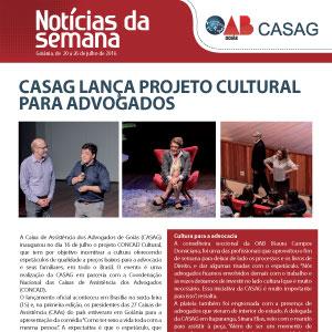 Informativo - Casag - 20-07-2016