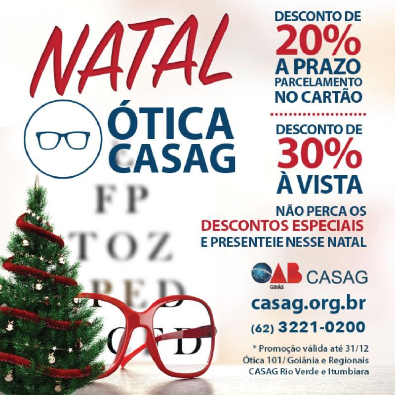 b0cf300373ce8 Ótica dos Advogados está com promoção de Natal - Novidades ...
