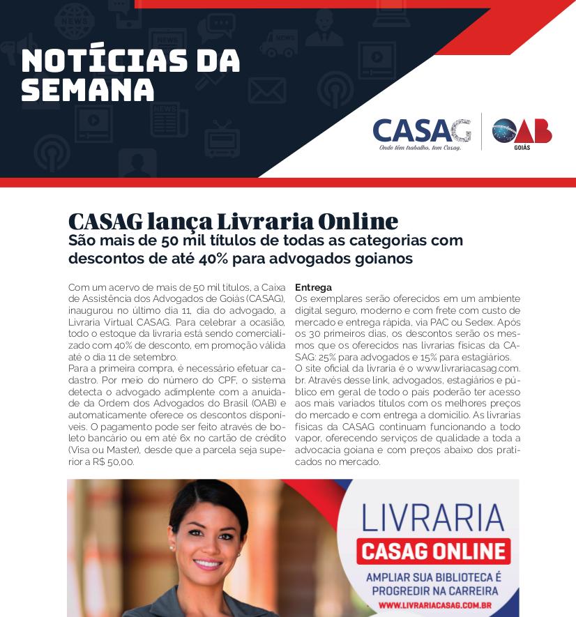 Informativo - Casag - 09-18