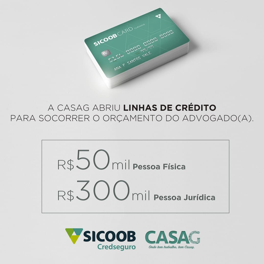 Advocacia goiana tem acesso a linhas especiais de crédito durante pandemia de Covid-19