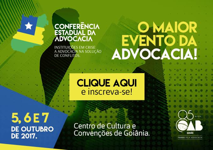 Conferência Estadual de Advocacia